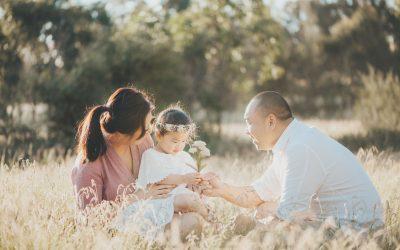 Amelia, Joyce and Peter